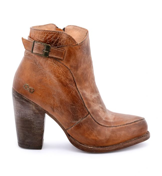 BED|STU - Short Boots | ISLA | BLACK RUSTIC