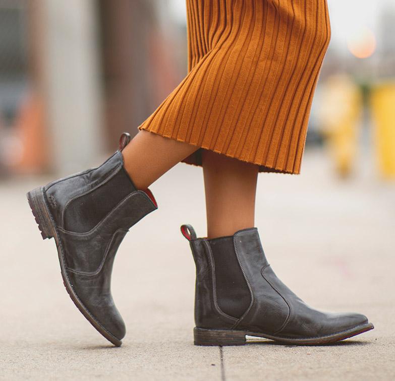women's short chesea boots nandi