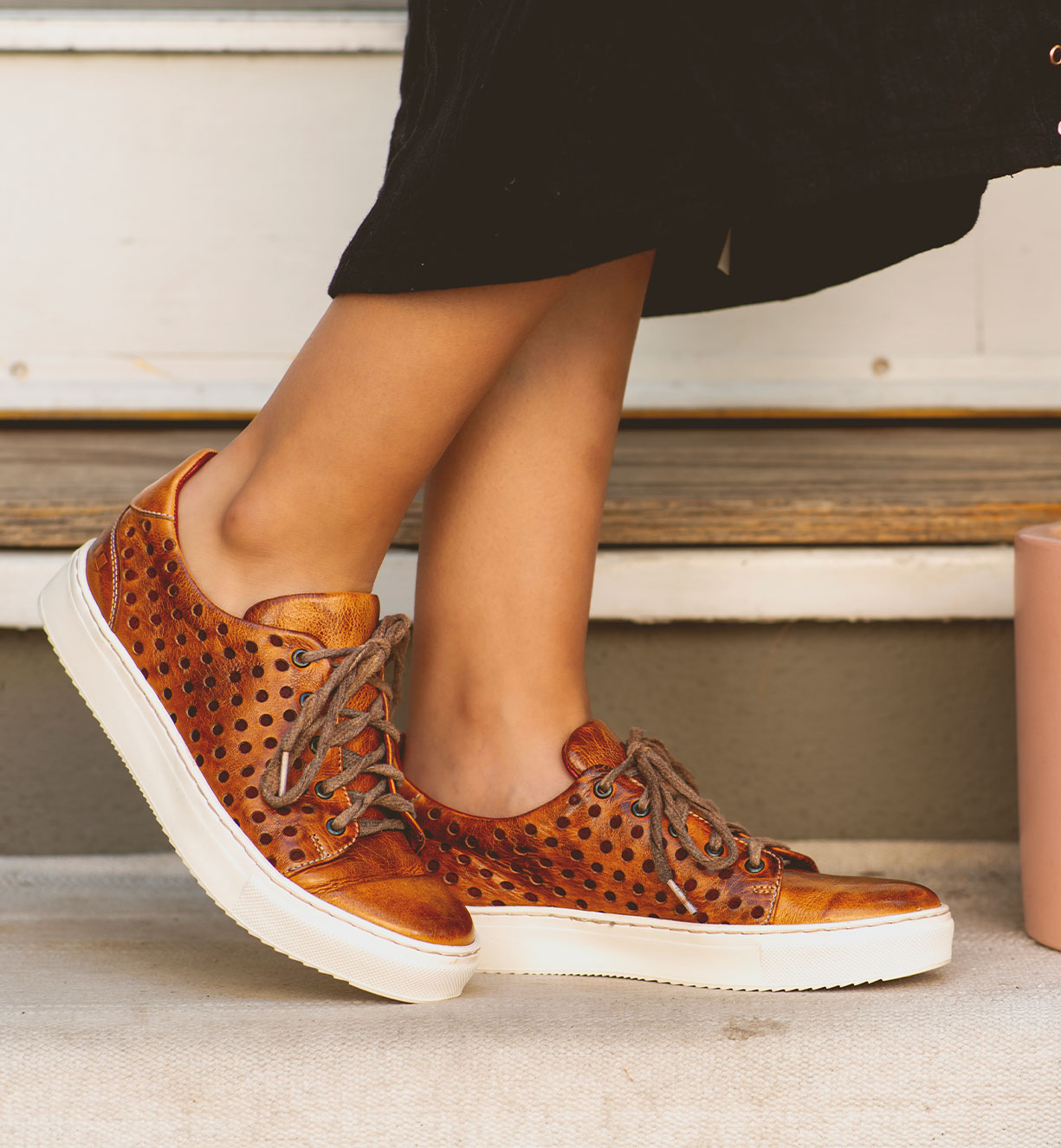 Women feet featuring classic sneakers high top shoes fall 2021