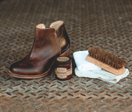 The Care and Keeping of Leather Footwear