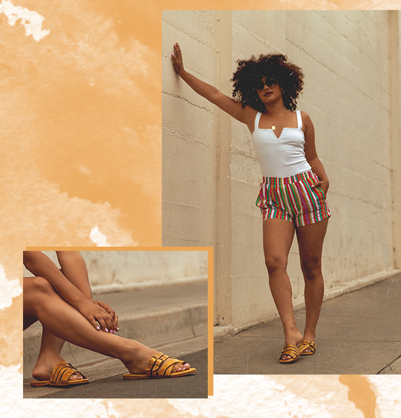 Strappy sandal HILDA was made for soaking up the sun
