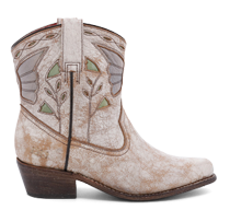 Bed|Stu's leather Filly boot in Nectar Lux