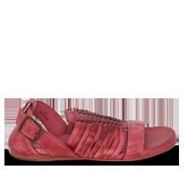 ABED|STÜ's flamingo red sandal, Ingritt